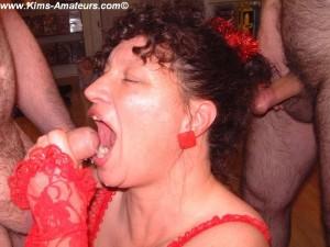 Xmas bukkake party